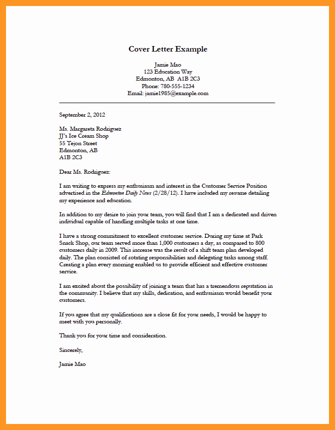 Simple Job Cover Letter Sample Best Of Cover Letter for Applying for A Job