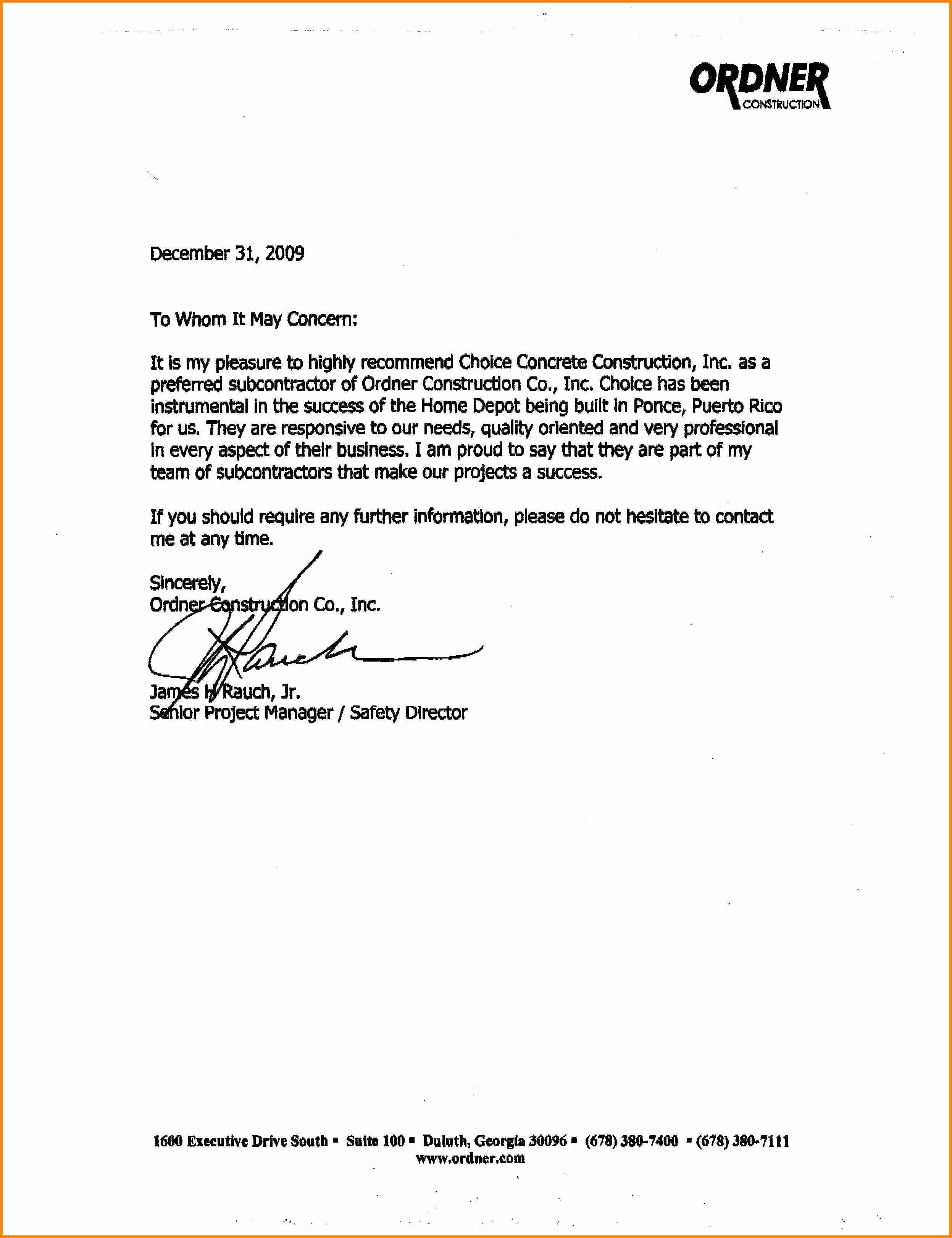 Simple Letter Of Recommendation Sample Fresh 9 General Letter Of Re Mendation Sample