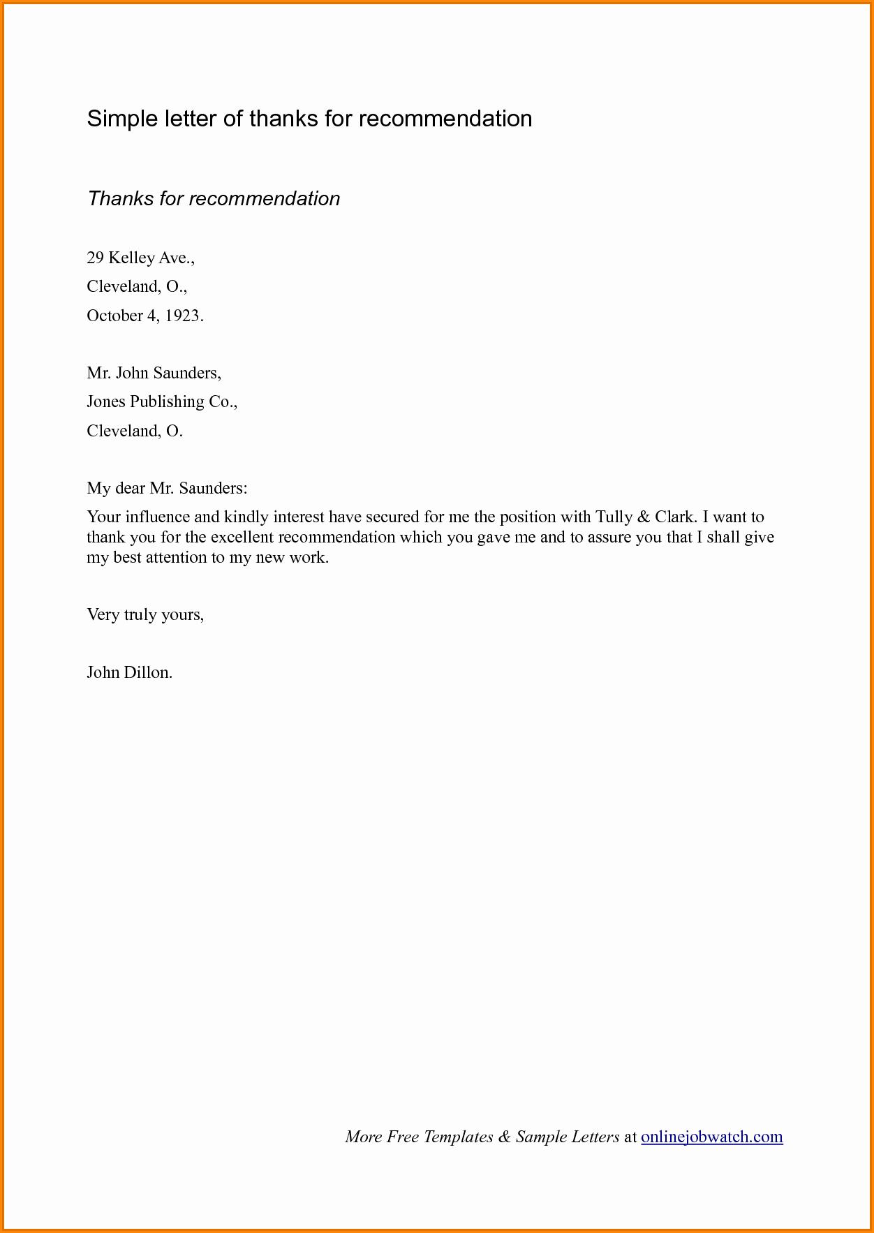 Simple Letter Of Recommendation Sample Lovely 28 Of Basic Student Re Mendation Letter Template
