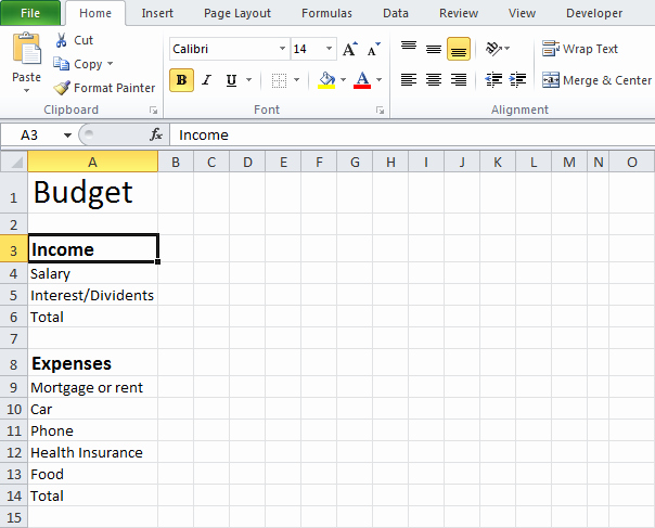 Simple Monthly Budget Template Excel Elegant Simple Bud Template Beepmunk