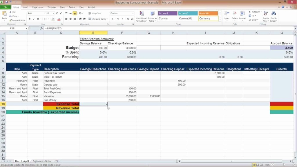Simple Monthly Budget Template Excel Luxury Simple Personal Bud Spreadsheet Personal Bud