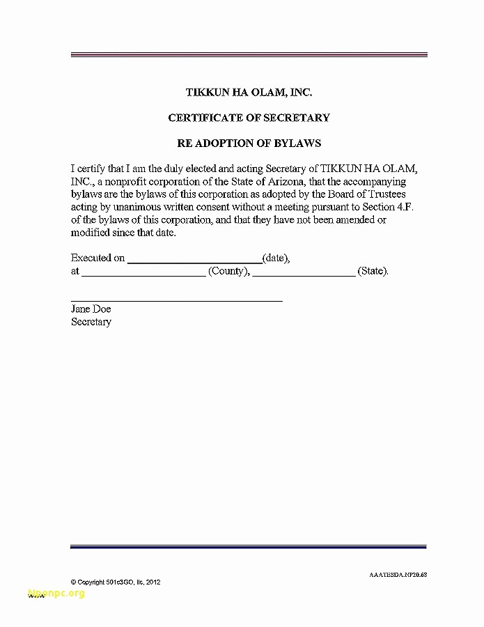 corporate secretary certificate template board resolution regarding banking account template and sample form