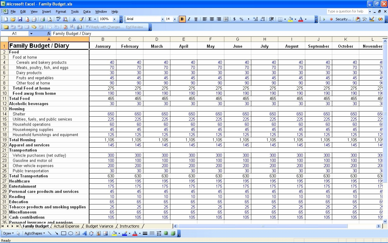 Simple Personal Budget Template Excel Awesome 15 Free Personal Bud Spreadsheet – Excel Spreadsheet