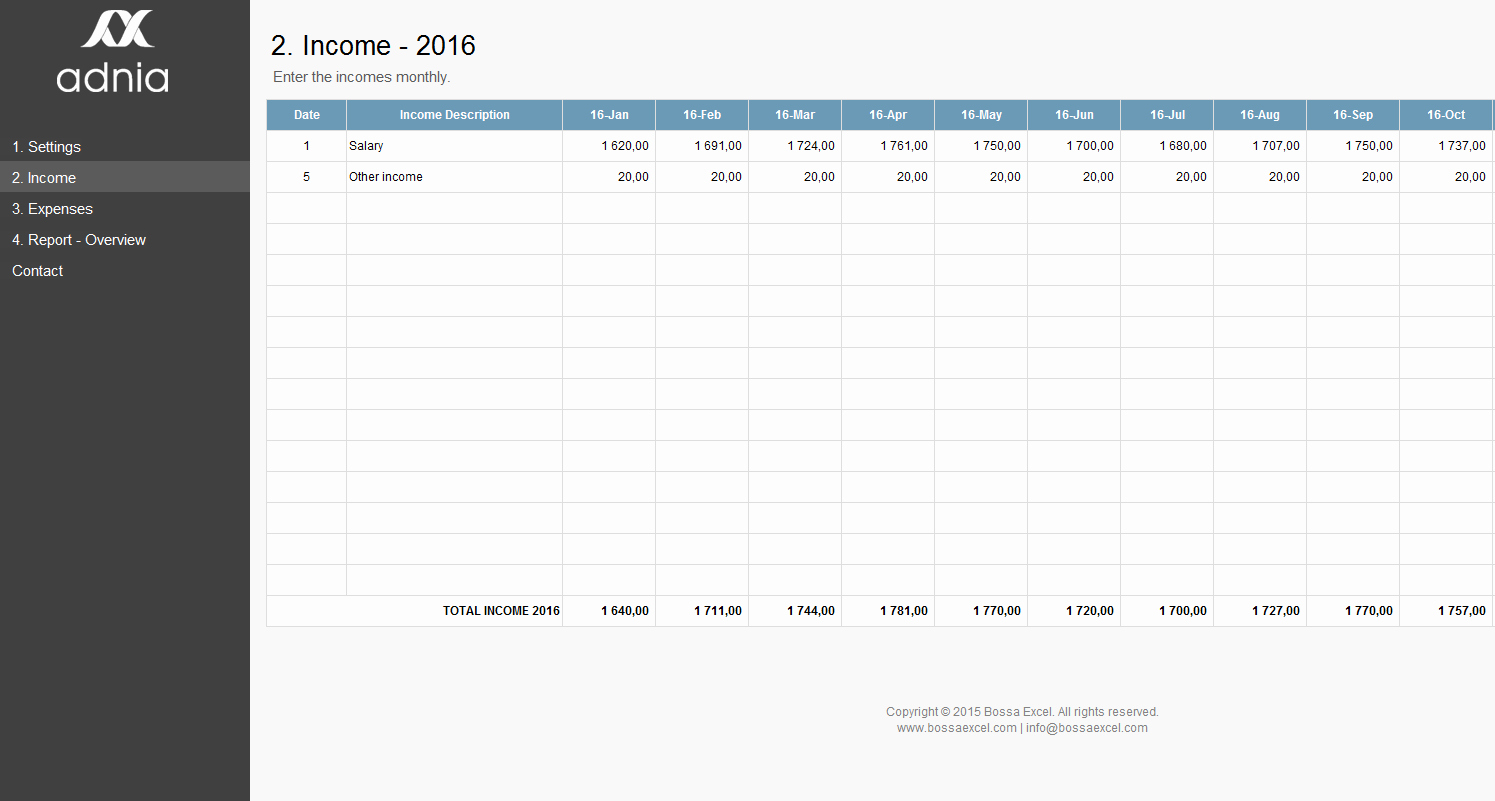 Simple Personal Budget Template Excel Elegant Simple Personal Bud Excel Template