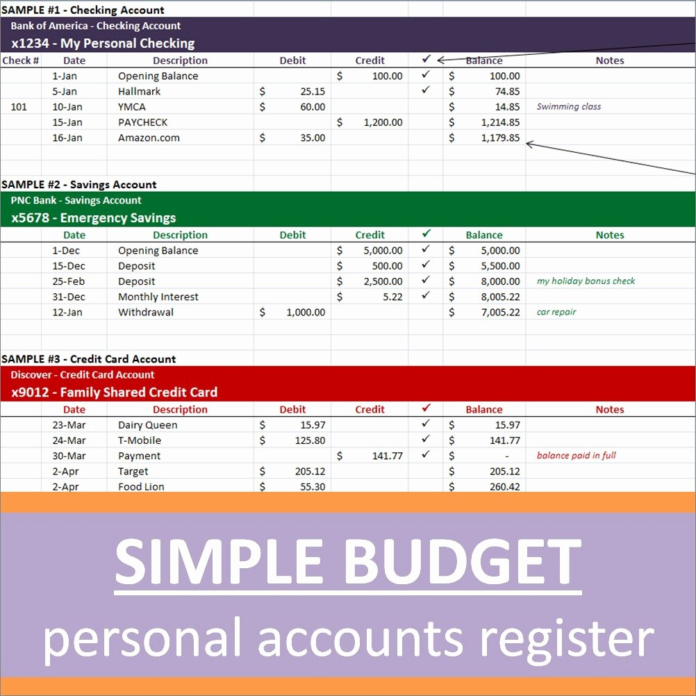 Simple Personal Budget Template Excel Lovely Simple Personal Bud Spreadsheets Excel Template