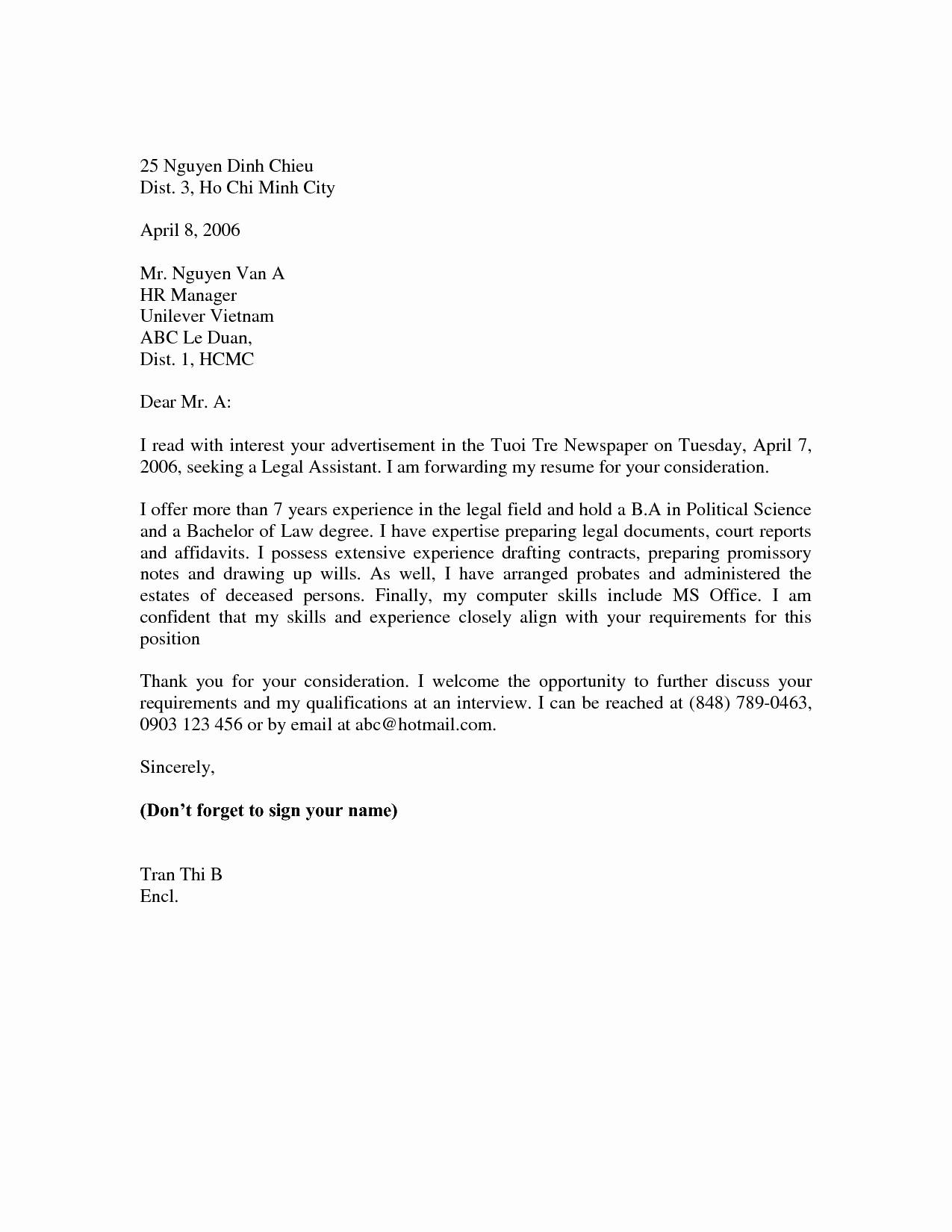 Simple Resume Cover Letter Examples Lovely Basic Cover Letter for Resume Examples