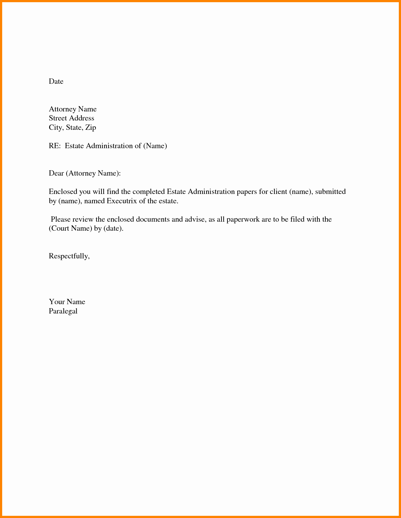 Simple Resume Cover Letter Template Awesome Basic Cover Letter