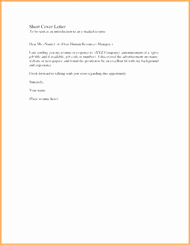 Simple Resume Cover Letter Template Awesome Simple Resume Cover Letter Samples – Dew Drops