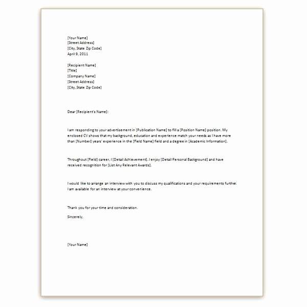 Simple Resume Cover Letter Template Inspirational Simple Cover Letter for Job Application Hashtag Bg