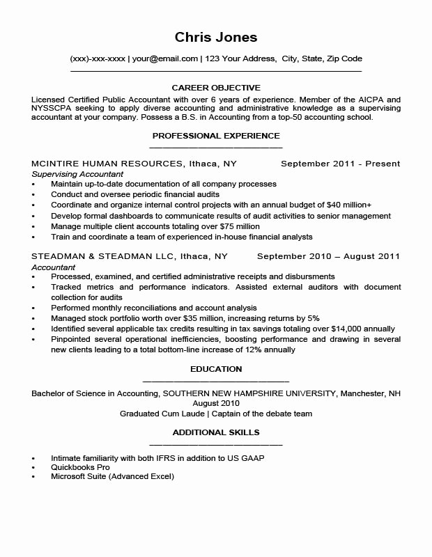 Simple Resume Examples for Jobs Best Of Resume Objective Examples for Students and Professionals