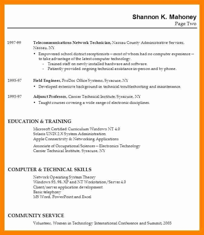 Simple Resume Examples for Students Elegant May 2017 – Best Resume Collection