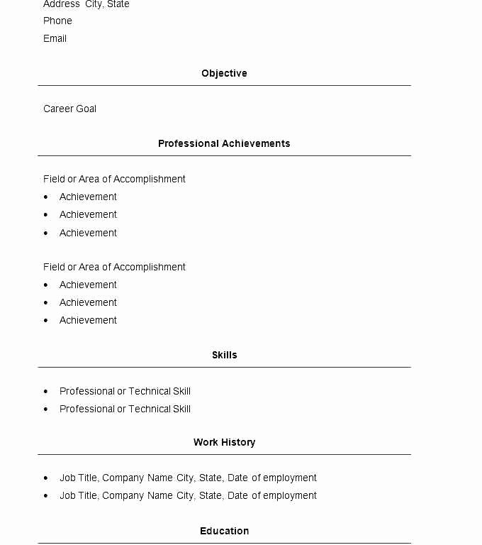 Simple Resume format for Job Beautiful Job Resume format Pdf Download Talktomartyb