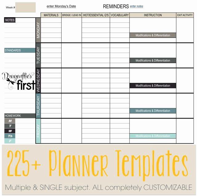 Single Subject Lesson Plan Template Beautiful 111 Best Lesson Plans Images On Pinterest