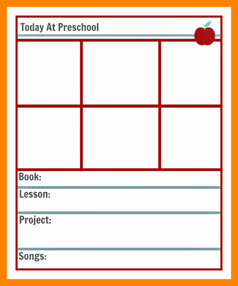Single Subject Lesson Plan Template Elegant 9 Free Printable Preschool Lesson Plan Template
