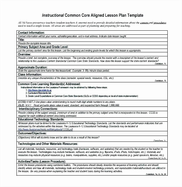 Single Subject Lesson Plan Template Fresh Single Lesson Plan Template Word Globalsacredcircle