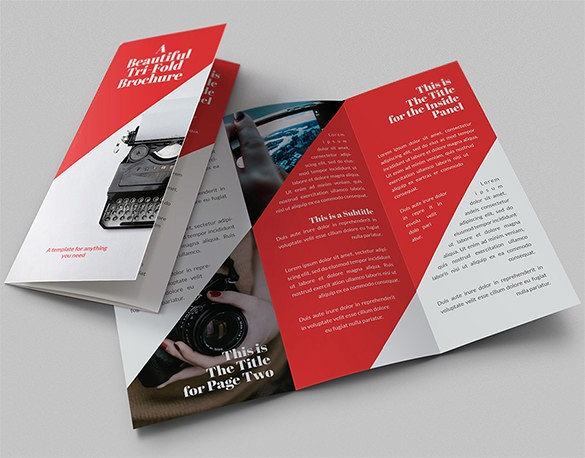 Size Of Tri Fold Brochure Awesome 17 Awsome Brochure Sizes and Psd Design Examples