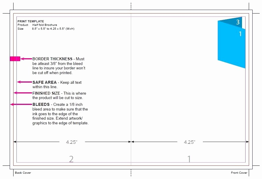 Size Of Tri Fold Brochure Awesome 50 Lovely Standard Tri Fold Brochure Size
