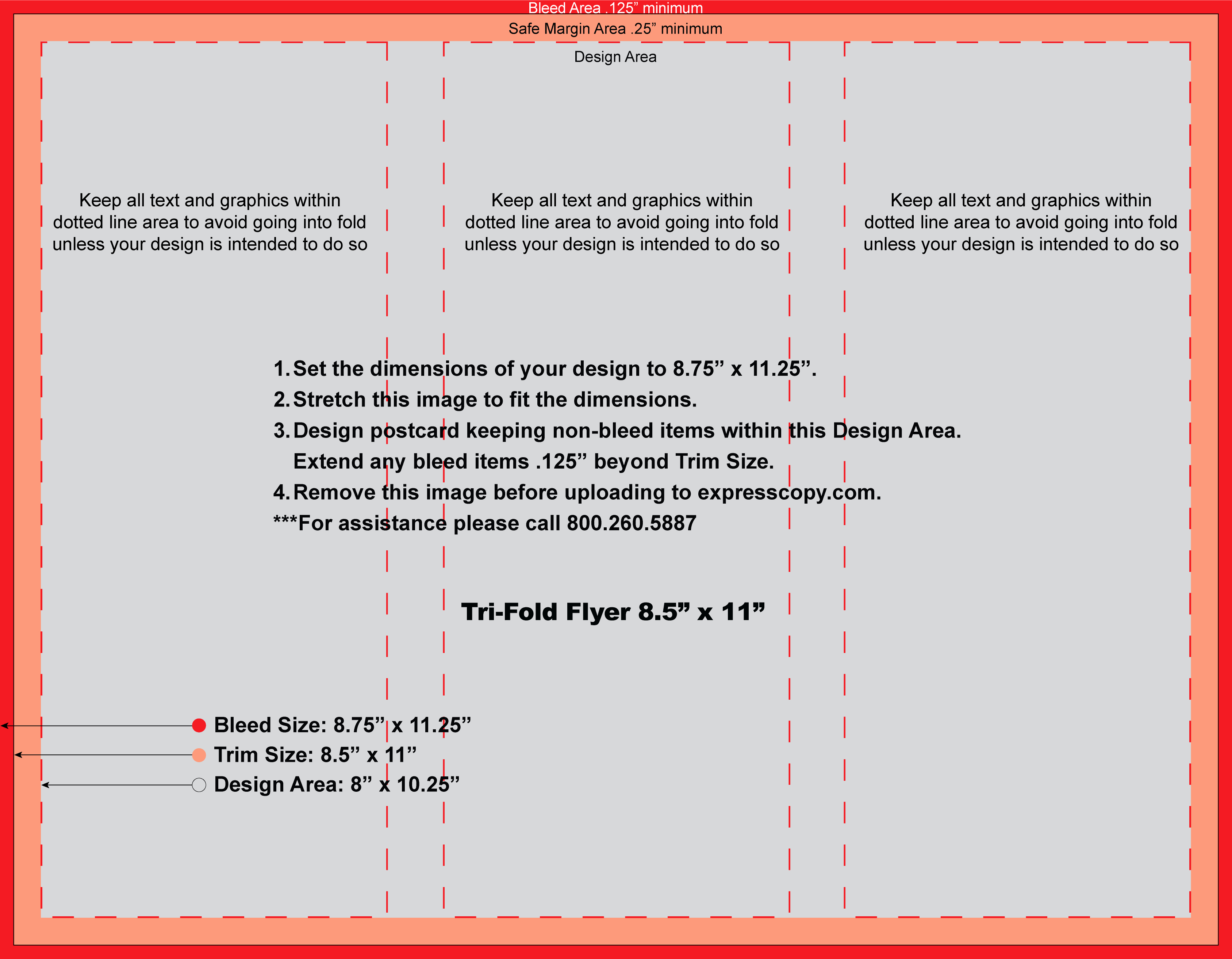 Size Of Tri Fold Brochure Awesome Flyer & Brochure Print Specifications
