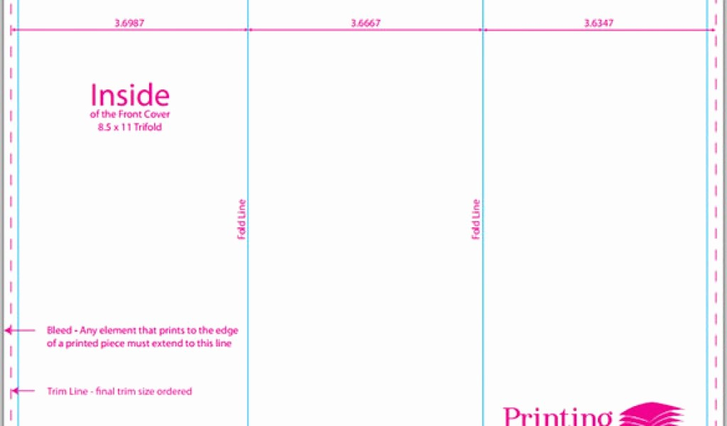Size Of Tri Fold Brochure Awesome Tri Fold Brochure Template Layout In Size A4 Stock Vector