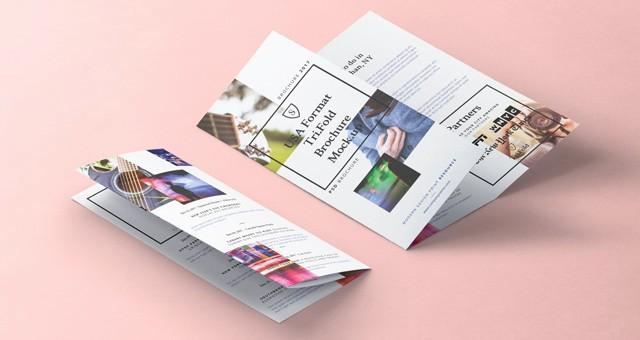 Size Of Tri Fold Brochure Best Of Tri Fold Psd 8 5x11 Inch Mockup Vol2