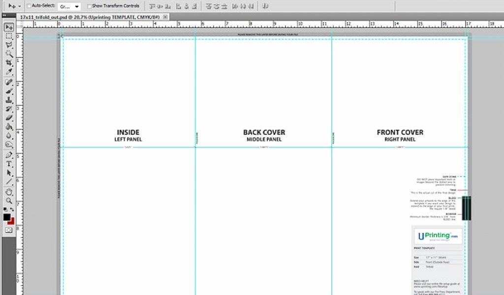 Size Of Tri Fold Brochure Elegant Brochure Templates Size Csoforumfo