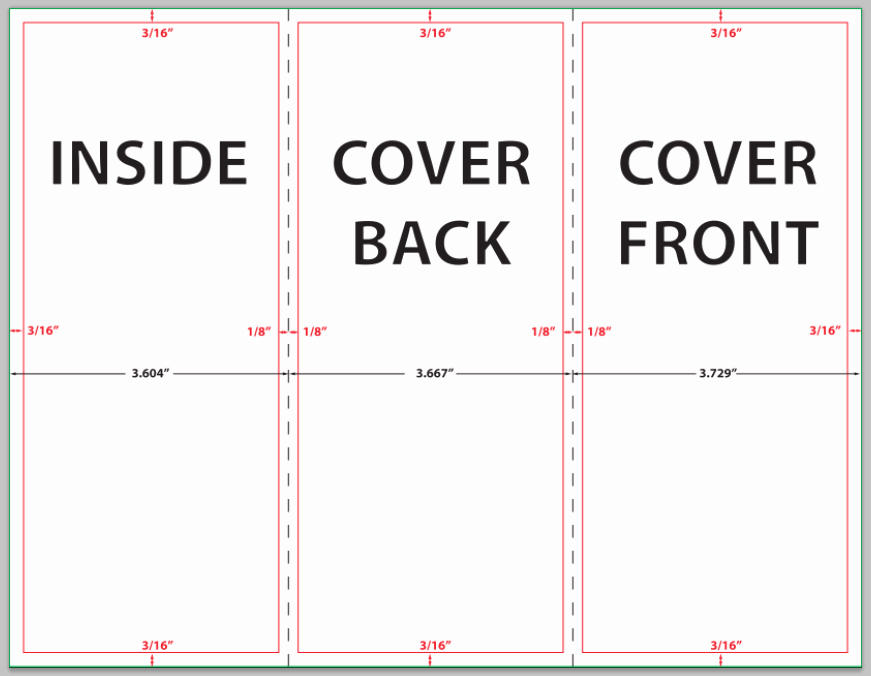 Size Of Tri Fold Brochure Fresh How to Design A Brochure