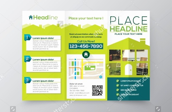 Size Of Tri Fold Brochure Inspirational 21 Property Brochure Templates Vector Eps Ai