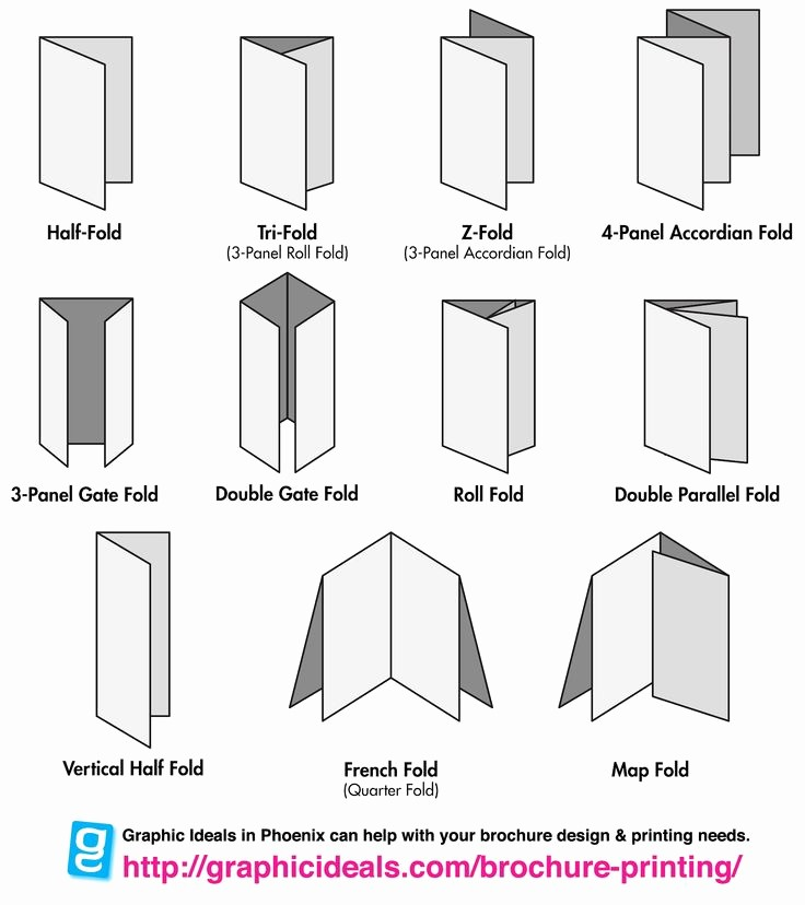 Size Of Tri Fold Brochure Lovely 1000 Images About Folding and Binding On Pinterest