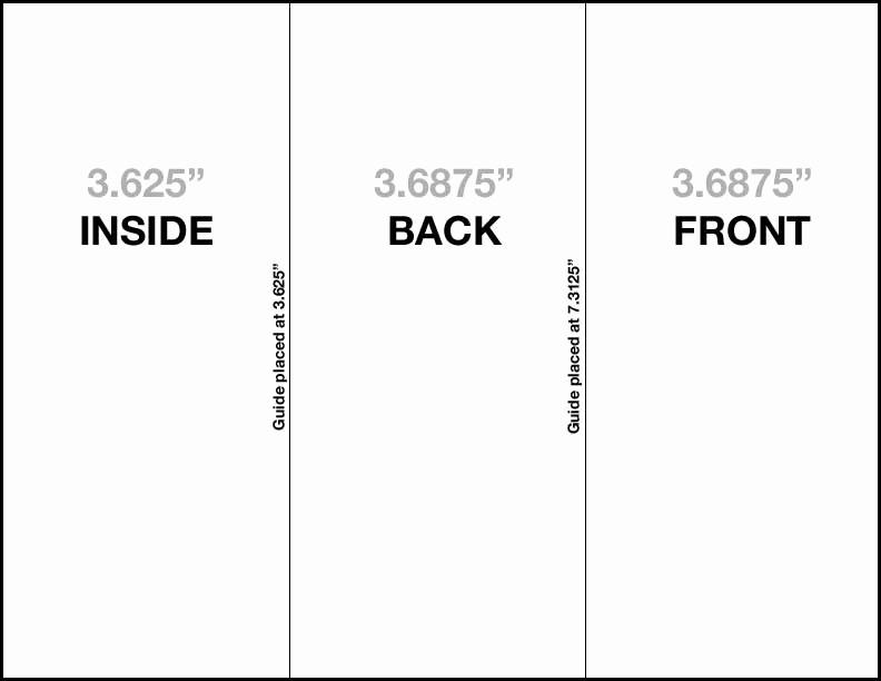 Size Of Tri Fold Brochure Lovely Brochure Templates Size Csoforumfo