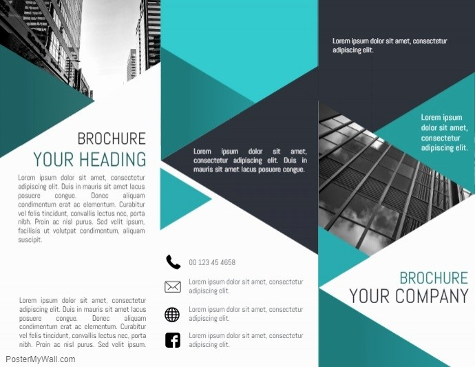 Size Of Tri Fold Brochure Lovely Tri Fold Brochure Template