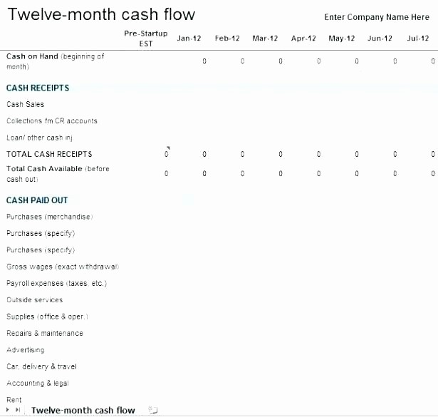 Small Business Cash Flow Projection Best Of Small Business Cash Flow Spreadsheet Download by Small