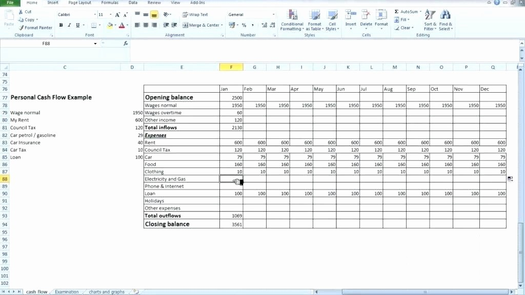 Small Business Cash Flow Projection Lovely Small Business Cash Flow Spreadsheet Download by Small