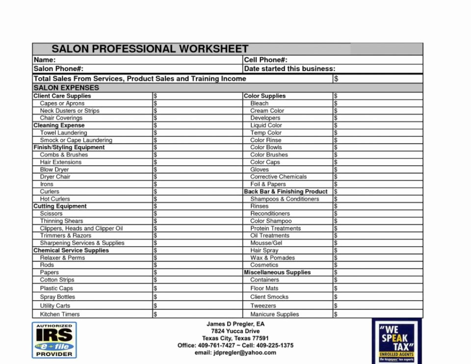 Small Business Expense Tracking Excel Lovely Worksheet Tax Spreadsheet for Small Business Picture