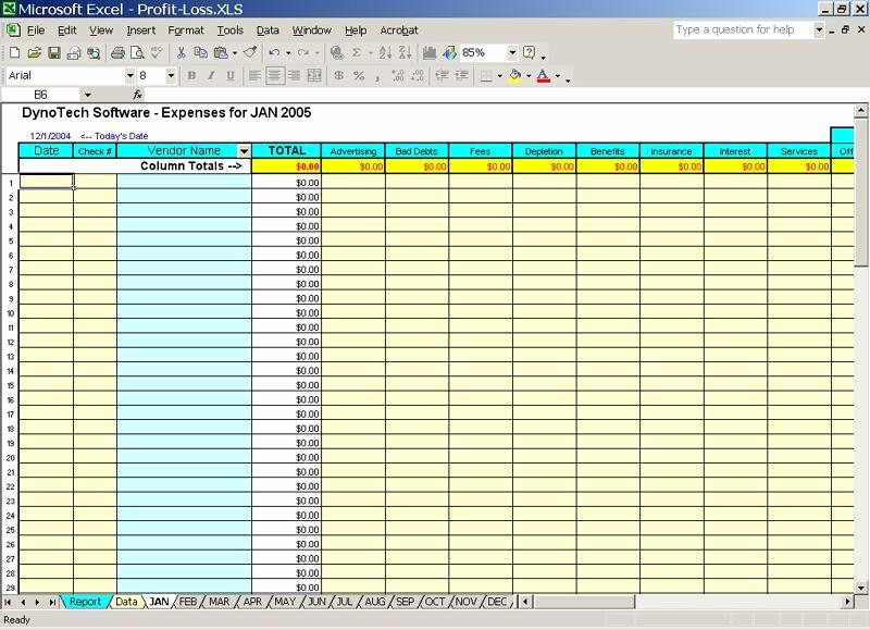 50 Small Business Expense Tracking Excel | Ufreeonline ...