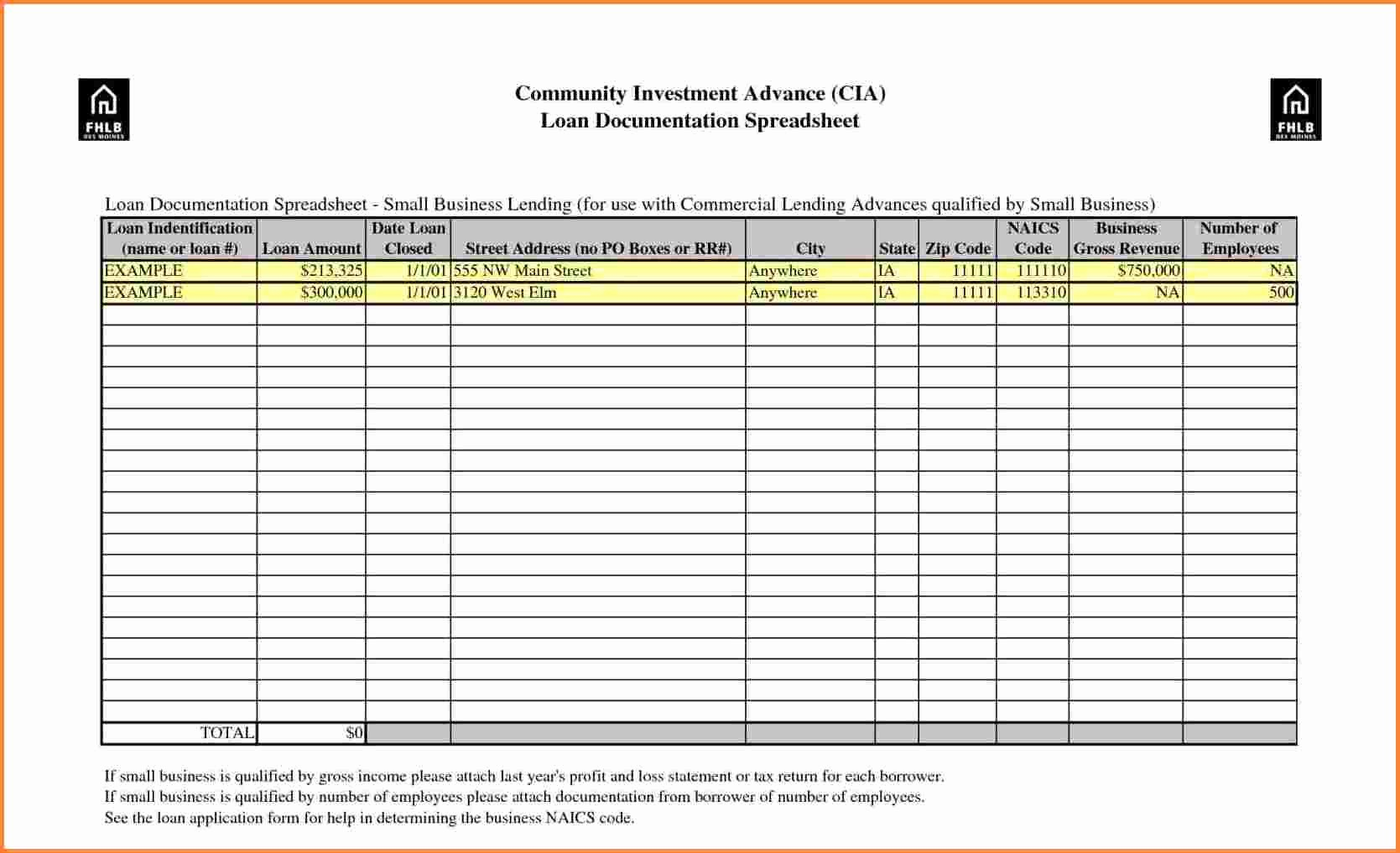 Small Business Spreadsheet Templates Free Inspirational 12 Spreadsheet Examples for Small Business