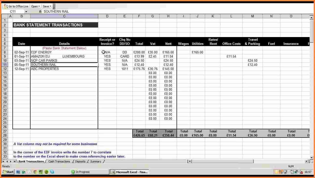 Small Business Tax Excel Spreadsheet Lovely 10 Business Expenses Spreadsheet