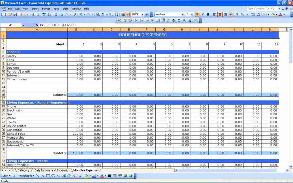 Small Business Tax Excel Spreadsheet Luxury Spreadsheet for Business Expenses Spreadsheet Templates