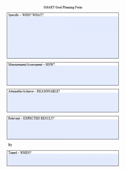 Smart Goals Template Free Download Fresh Download Smart Goals Worksheet Templates Excel