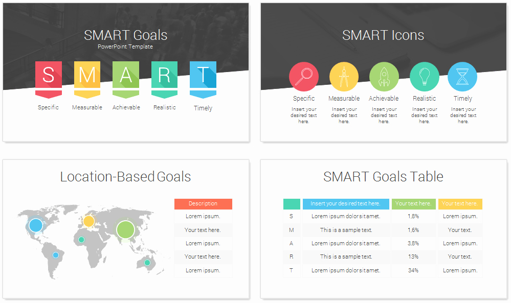 Smart Goals Template Free Download Inspirational Smart Powerpoint Templates