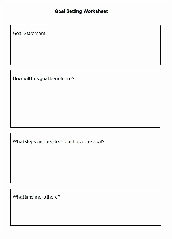 Smart Goals Template Free Download Lovely Goal Smart Goals Worksheet Setting Pdf Template with Tips