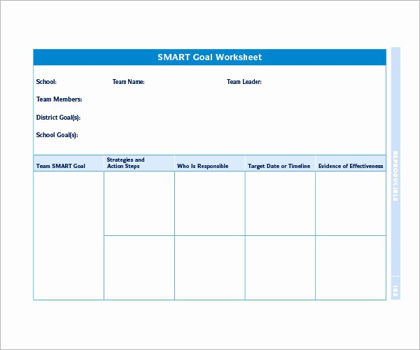 Smart Goals Template Free Download Lovely Smart Goals Template 15 Download Free Documents In Pdf
