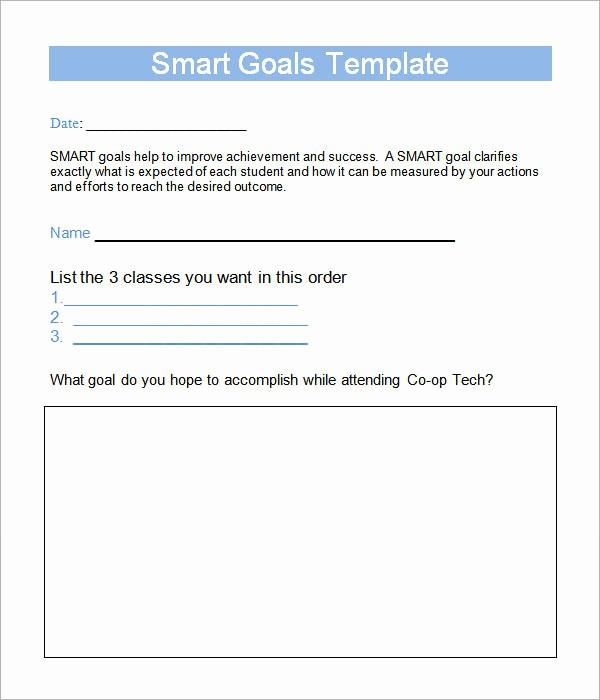 Smart Goals Template Free Download New Smart Goals Template 15 Download Free Documents In Pdf