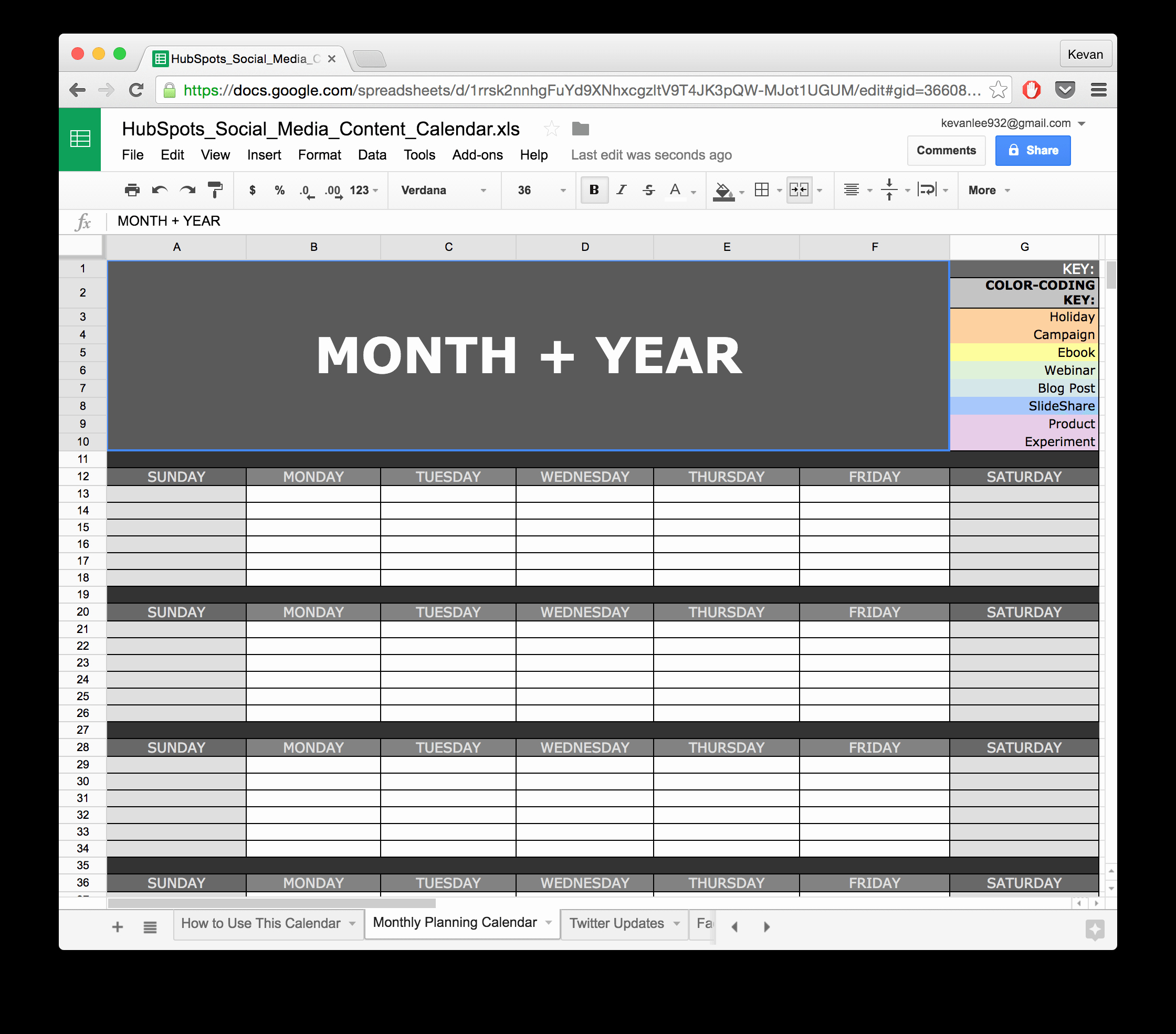 Social Media Content Calendar Templates Awesome social Media Calendar Template Google Docs