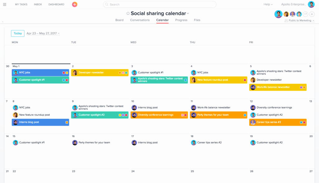 Social Media Content Calendar Templates Beautiful 4 Time Saving social Media Management Workflows and Templates
