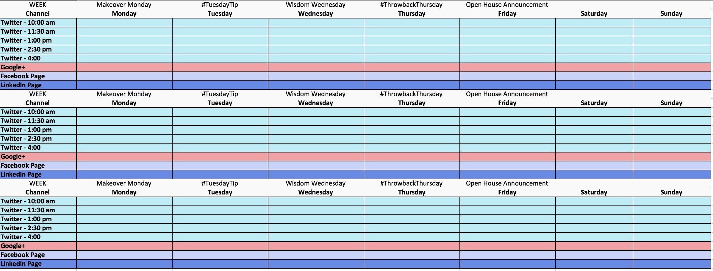 Social Media Content Calendar Templates Lovely the Ultimate Guide to Creating Your social Media Calendar