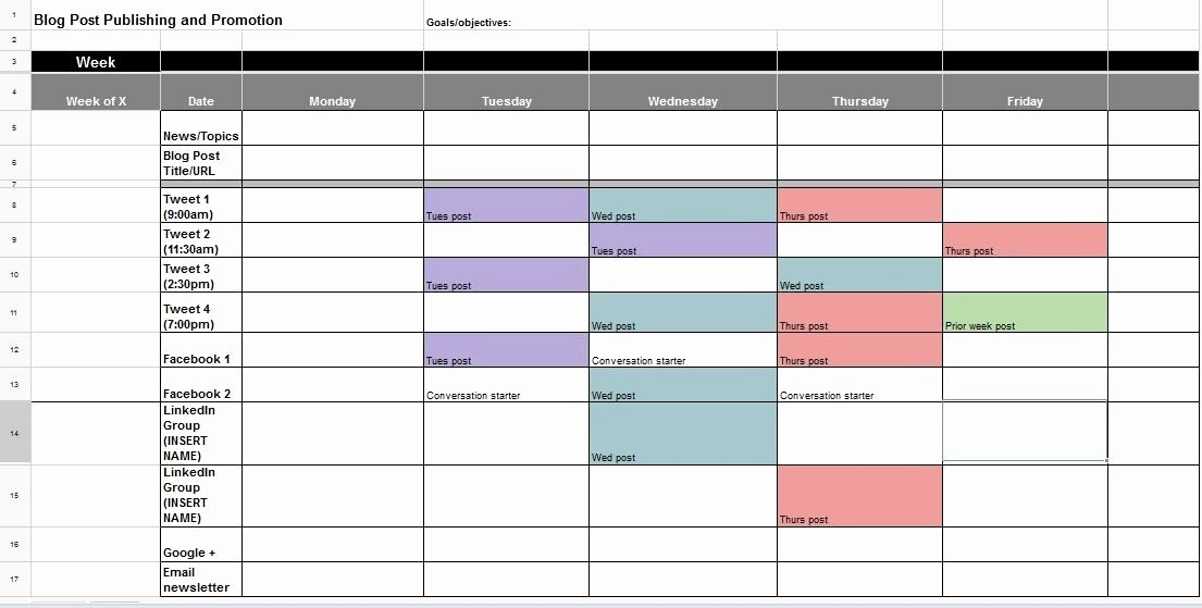 Social Media Post Schedule Template Awesome the Ultimate Guide to Creating Your social Media Calendar