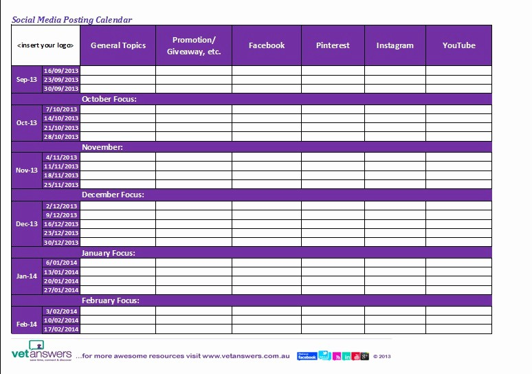 Social Media Post Schedule Template Awesome top Tips for Using the Most Useful tool On social Media