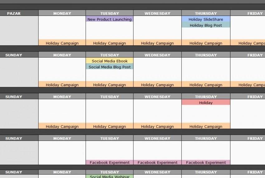 Social Media Post Schedule Template Beautiful social Media Post Calendar Template Haven