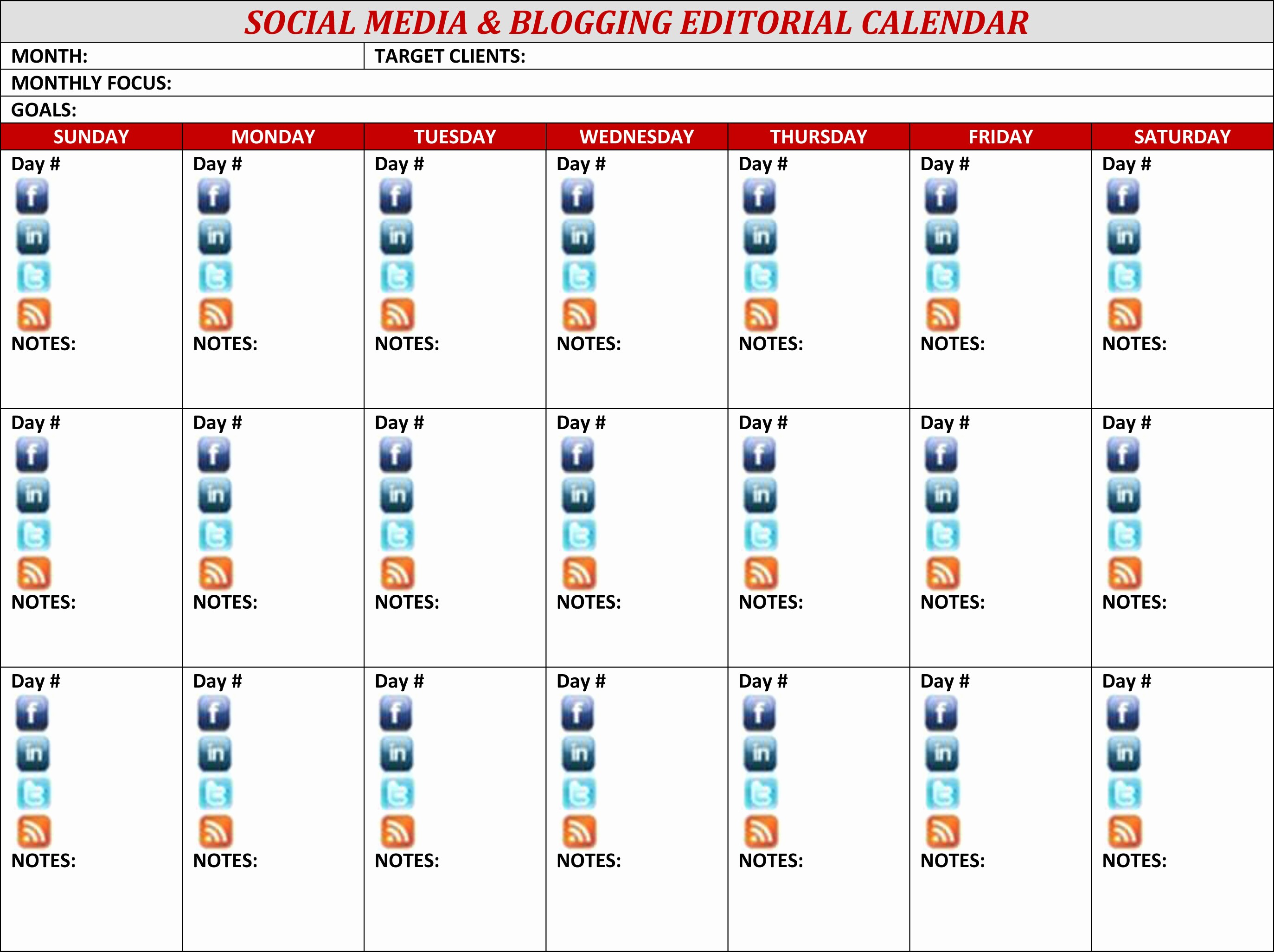 Social Media Post Schedule Template Fresh Editorial social Media Calendar Template