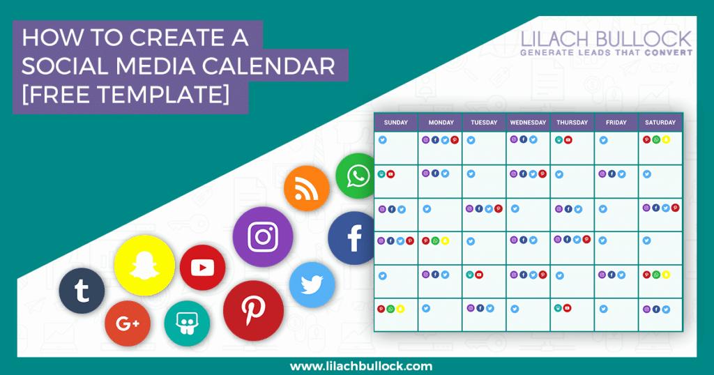 Social Media Post Schedule Template Luxury How to Create A social Media Calendar Free social Media